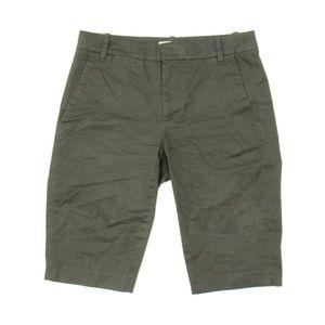Vince Bermuda Trouser Shorts Olive V574221587